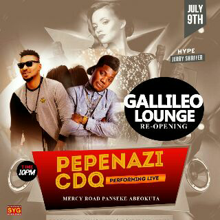 One of the events at Gallileo Lounge Abeokuta